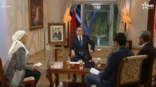 Saâd-Eddine El Othmani à la TV   : Ce qu'il a dit au sujet d'Al Hoceima