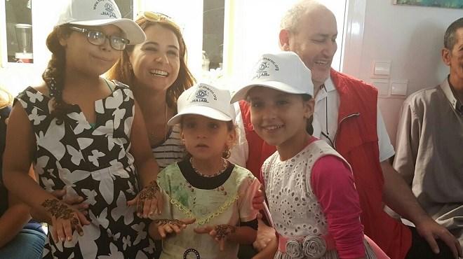 Association Hajar : Les enfants en fête avec Samia Akariou