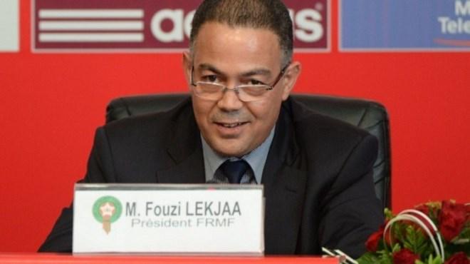 Fouzi Lekjaa : Deux fauteuils pour le Président !