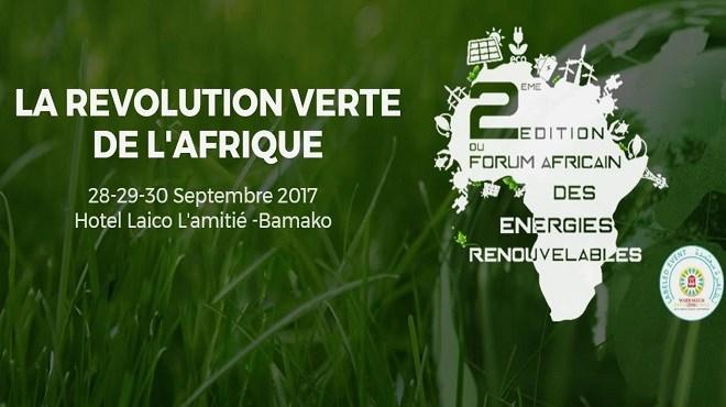 Energies renouvelables : Le Maroc à l'honneur à Bamako