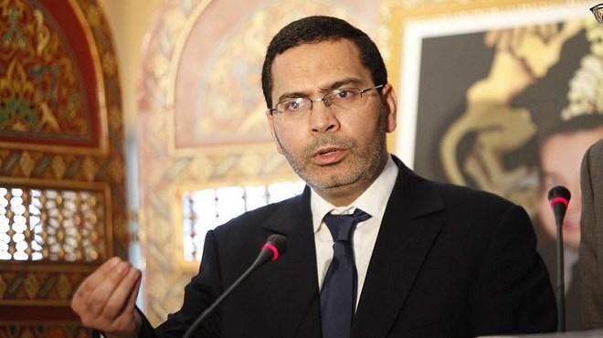 Mustapha El Khalfi, ministre chargé des Relations avec le parlement et Porte-parole du gouvernement