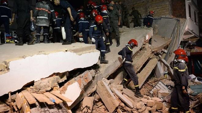 Le feuilleton des effondrements se poursuit au Maroc