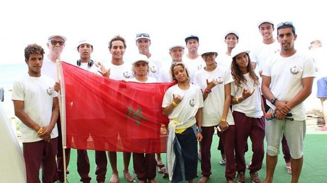 Les surfeurs marocains au Japon