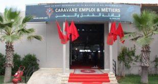 Maroc/Caravane des métiers : Préparer l'emploi de demain