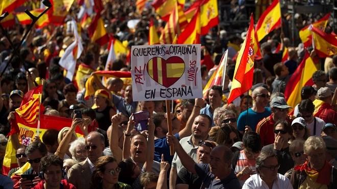 Evènements de Catalogne : Rejet mondial du séparatisme et cas du Sahara