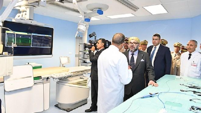 Hôpital militaire de Rabat : Le Roi y inaugure un centre de cardiologie «Top» !