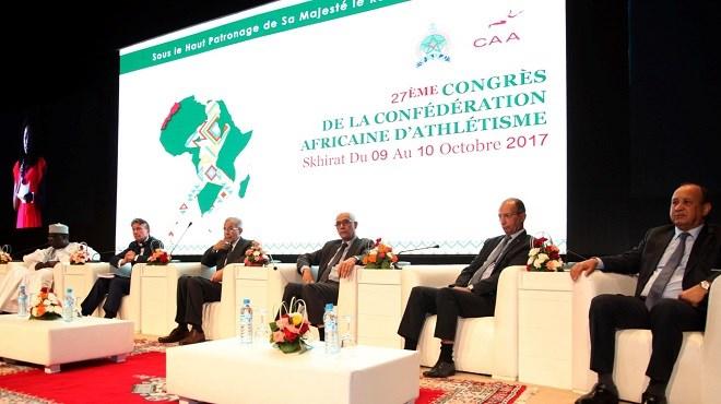 Athlétisme : L'appel royal au 27ème congrès de la CAA