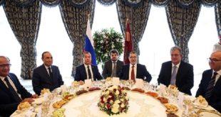 Déjeuner royal en l'honneur du 1er ministre Russe