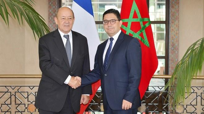 Jean-Yves Le Drian en visite au Maroc du 7 au 10 juin