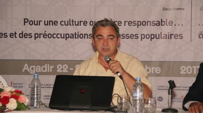Pascal Lambolez, conseiller, expert à la Fédération des Mines et Energie (CGT) et intervenant international dans les questions de vie syndicale