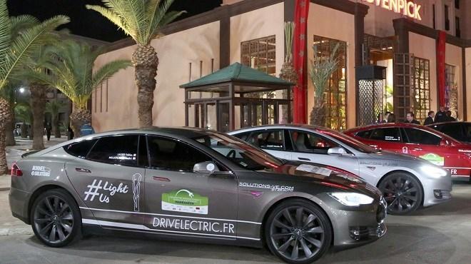 Rive Maroc : Le plus grand rallye de voitures électriques du Monde