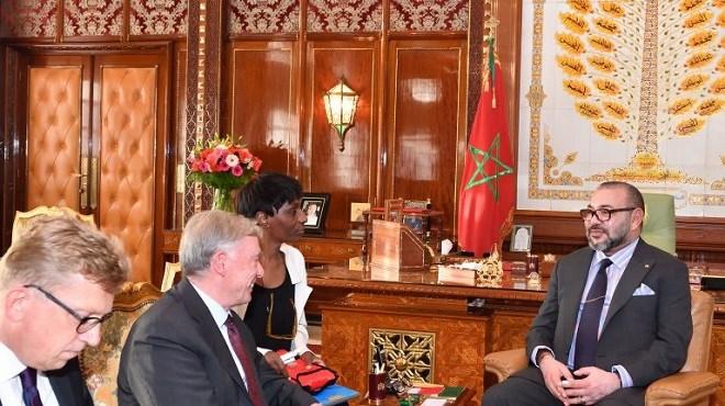 Sahara : SM Mohammed VI reçoit en audience Horst Köhler