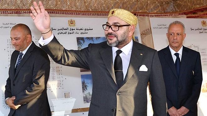 Salé-Tabriquet : Le Roi lance les travaux de «Souk Assalihine»