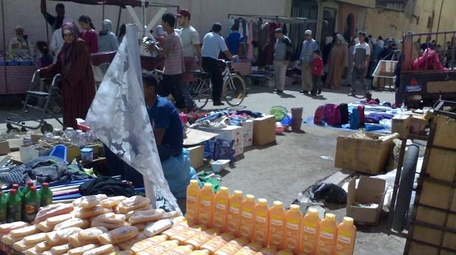 Souk Al Fallah : Un marché où la contrebande casse les prix