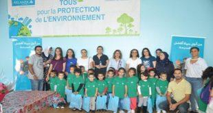 Atlanta Assurances : Des ateliers écologiques en faveur des enfants