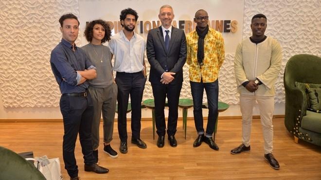 Groupe Holmarcom : Exposition «Inspirations Africaines» à la Galerie H