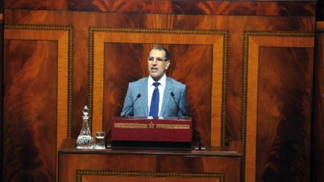 El Othmani au Parlement : «Arrêtons d'être alarmistes!»