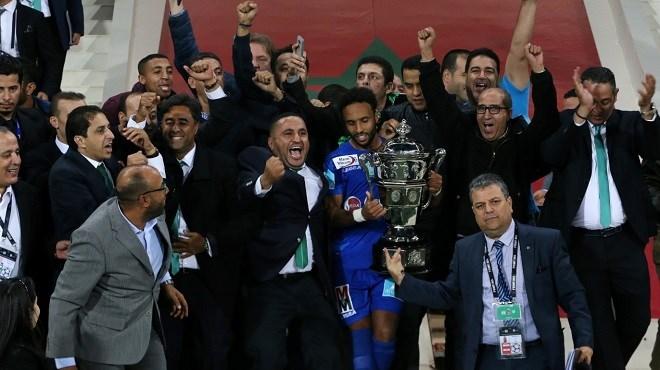 Coupe du Trône : Le Raja champion pour la 8ème fois