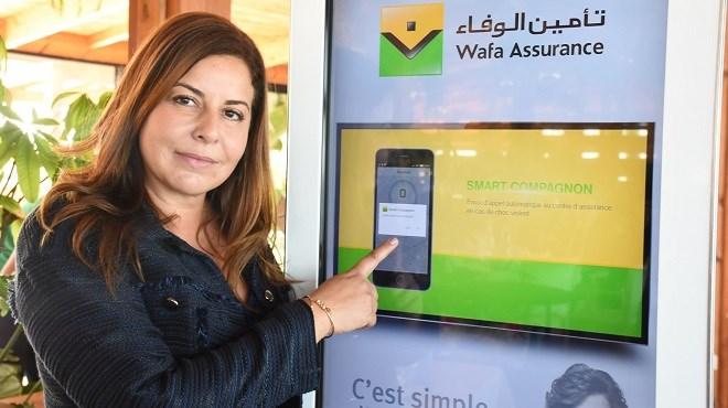 Wafa assurance : MyWafa, l'assistant intelligent