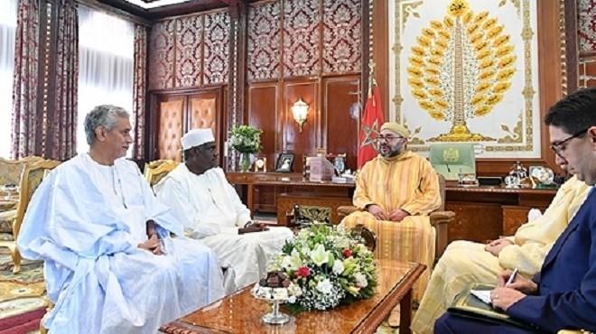 Maroc : Le Roi Mohammed VI reçoit le président de la Commission de l'UA