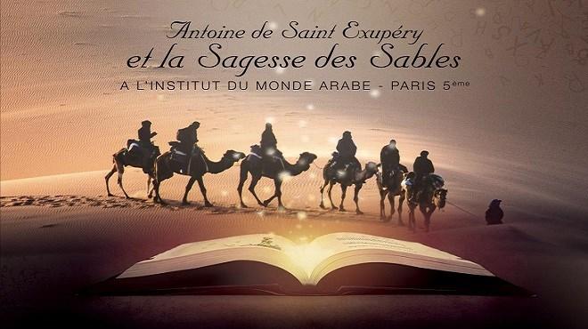 Saint-Exupéry et désert marocain