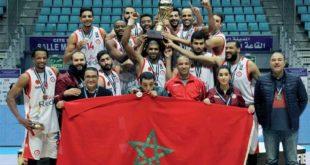 Maroc/Basket-ball : L'AS de Salé championne d'Afrique