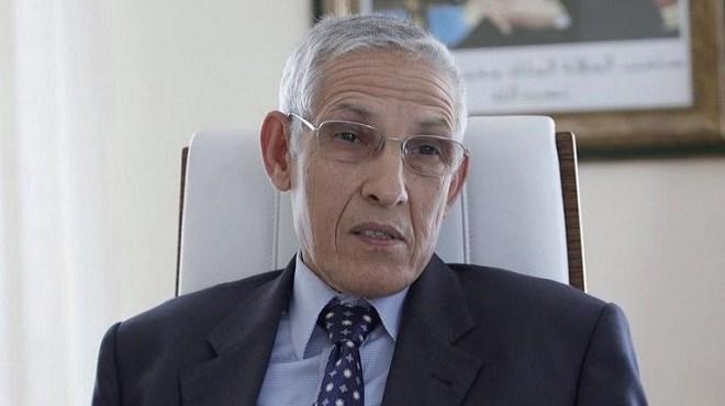 Lahcen Daoudi, ministre délégué chargé des Affaires générales et de la Gouvernance
