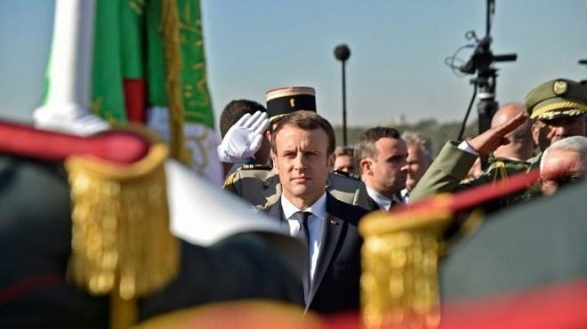 Macron en visite en Algérie : R.A.S