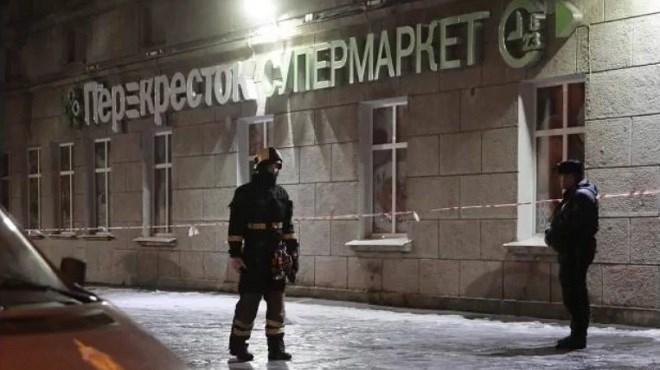 Saint-Pétersbourg : 13 blessés dans une explosion