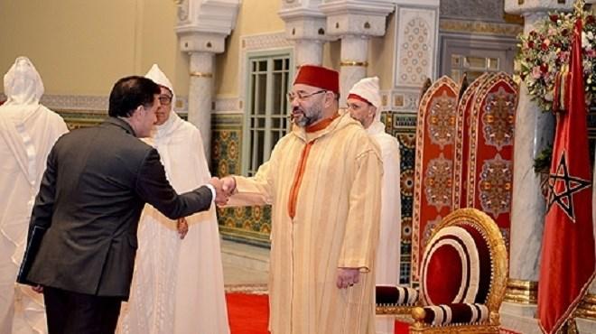 Maroc/Diplomatie  SM le Roi reçoit plusieurs ambassadeurs étrangers