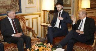 Sahara : Jean-Yves Le Drian reçoit Horst Köhler