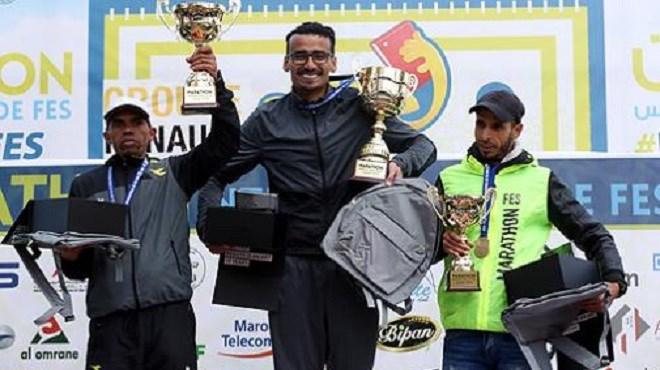 Le Marocain Khalil Lemsiyeh remporte le Marathon international de Fès