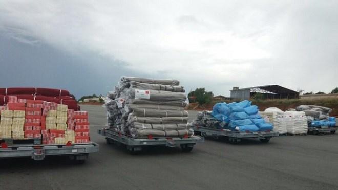 Le Maroc envoi une aide humanitaire à Madagascar, frappé par le cyclone