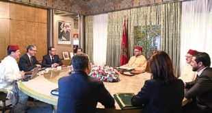 Énergies renouvelables : SM le Roi préside une réunion de travail