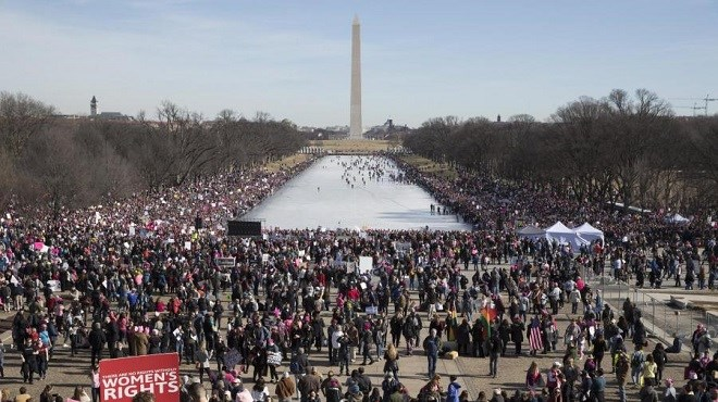 Women's March 2018 : Manifestations géantes pour les droits des femmes