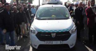 Maroc-taxi : Les chauffeurs protestent contre la montée des prix du carburant à Casablanca