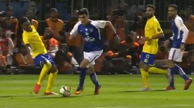 Achraf Bencherki marque son premier but avec Al-Hilal