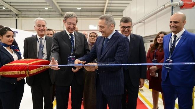 Aéronautique : Daher inaugure sa 3ème usine au Maroc