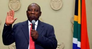 Afrique du Sud : Un nouveau président