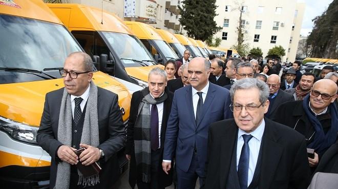 Fès-Meknès : 22 bus scolaires aux communes