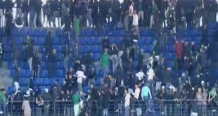 Hooliganisme : 65 supporters arrêtés par la police marocain