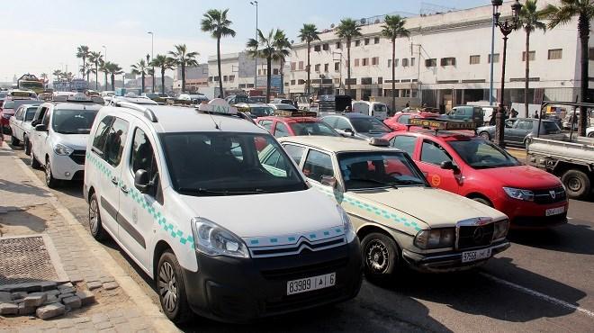 Maroc : Des taximen organisent un sit-in à Casablanca