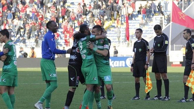 Le WAC battu dans le le derby casablancais