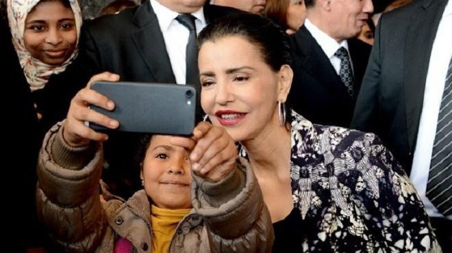 Le selfie avec la Princesse Lalla Meryem