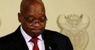 Afrique du Sud : Le président Jacob Zuma annonce sa démission