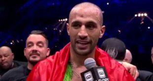 Badr Hari remercie ses fans en Darija (Vidéo)