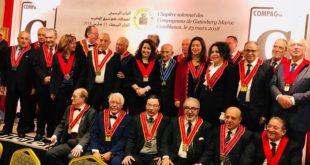 Compagnons de Gutenberg Maroc Du nouveau au 8ème Chapitre solennel