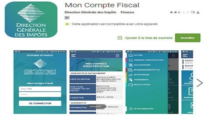 «Mon Compte Fiscal» : La DGI lance une nouvelle application mobile