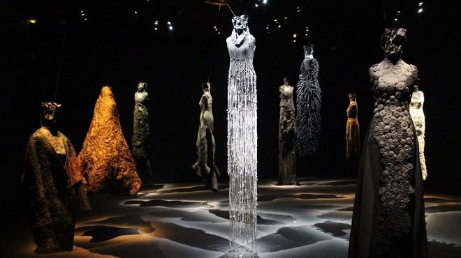 Exposition : Les «Robes sculptures» à Marrakech