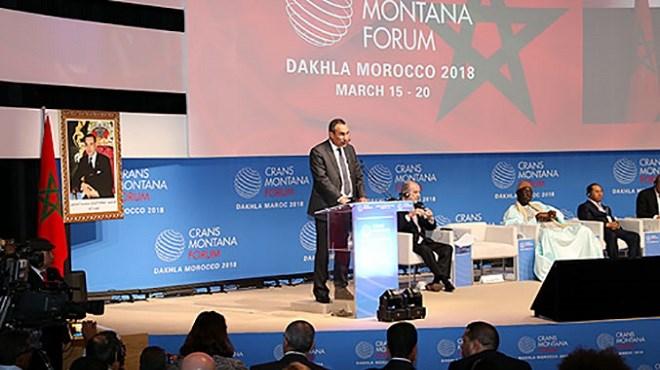 Forum de Crans Montana : SM le Roi adresse un message aux participants